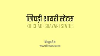 Khichadi Shayari Status in Hindi