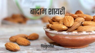 Almond Shayari in Hindi