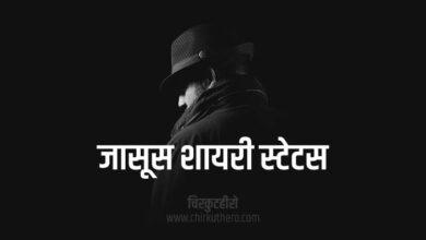 Jasoos Shayari Status Quotes in Hindi